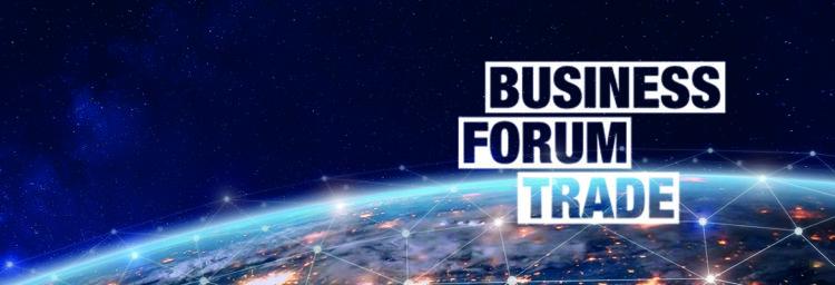 Jordglob med logotype BusinessForum Trade 2019